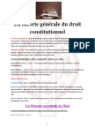 S2 - La Théorie Générale Du Droit Constitutionnel FSJEST