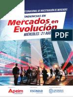 ESOMAR External Event Peru 2013 Programme