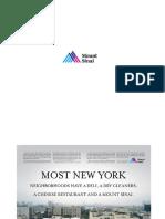 Mount Sinai Print Ads