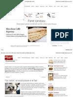 Pane carasau o carta musica - Descrizione e utilizzo | Alimentipedia