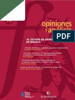 96 El Estado de Derecho en Bolivia