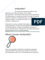 What is Peritonitis