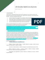 Albornoz - La Importancia de Formular Objetivos en El Proceso Docente