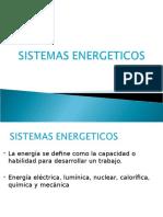 Clase 4 . Sistemas Energeticos
