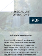 (5)Physical Unit Operations