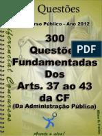 Apostila Questoes Dos Arts. 37 Ao 43 Da Cf (1)