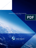 Dubai UAE Airports Strategic Plan 2020