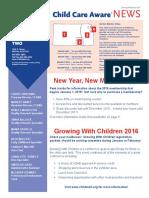 January February Newsletter
