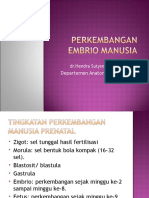 Perkembangan Embrio (Biomedik1)