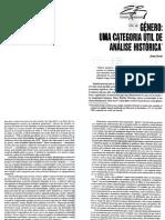 SCOTT, Joan. Gênero Uma Categoria Útil de Análise Histórica. in Educação e Realidade, Jul.dez. 1995, p. 71–99