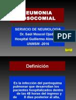 Neumonia Nosocomial