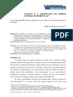 A Transplantação e a Adaptação Da Igreja Messianica Mundial Em Portugal