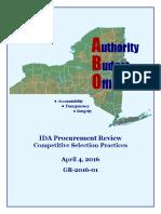 IDA Procurement Final Report