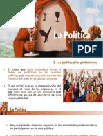 La Politica y Las Profesiones