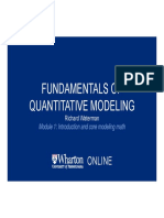 Financial marketing vol 1- Introduction and Essential Math