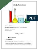 Trabajo de Química