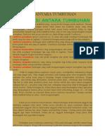 makalah INTERAKSI ANTARA TUMBUHAN