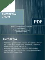 Anestesia Umum