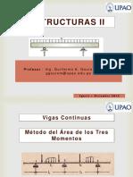 04 Vigas Continuas - Metodo del Area de los Tres Momentos - Estructuras II - UPAO.pdf