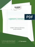 Unidad1.Estructuradelmarcojuridicoambiental