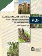 Las Gramineas POACEAE en Colombia 2013