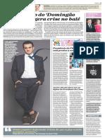 Jornal o Dia Coluna Leo Dias Fabio Rixental