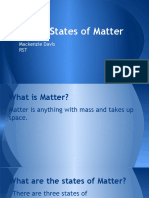 matter introduction