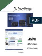 Smart Simm Servers