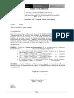 Formato Para Conformación de Comites