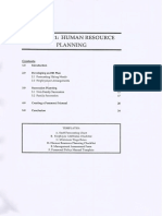 Human Resource Planning 20