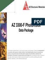 Az 3300-f Photoresist
