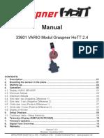 33601 VarioM Senzor Altitudine