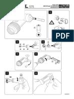 DREMEL Manual de Instrucciones Eje Angular-1974