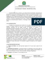 #Edital de Bolsas de Mestrado e Doutorado IFAC-CNPq (2015)