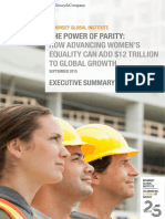 MGI Power of Parity_Executive Summary