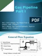 Sales Gas Pipeline