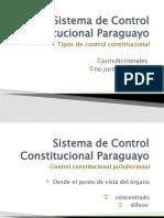 Sistema de Control Constitucional Paraguayo
