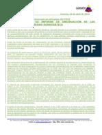 NPS_325 Súmate entregó informe de Observación Primarias  28-04-10