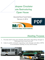 Route 496 Restructuring Public Meeting 20160203