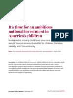 Economic Policy Institute Invest in Children Paper