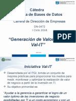 DN0472 Tema 1b - Generación de Valor de TI