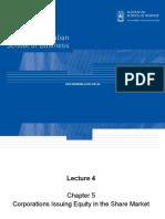 FINS1612 W4 Lecture
