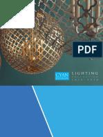 2015 Cyan Lighting Catalog