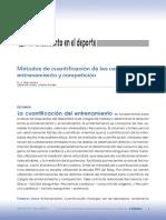 Métodos de Cuantificación de Las Cargas de Entrenamieto y Competición