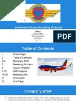 southwest airlines presentation