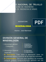Introduccion a La Mineralogia Descriptiva