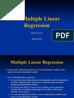 1.2 Multiple Linear Regression