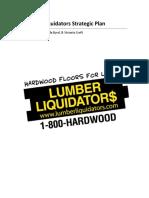 lumber liquidators strategic plan