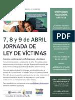 Día de la Memoria y Solidaridad con las víctimas del conflicto en Consulado de Sevilla