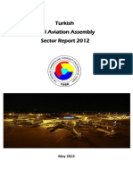 Turkish Civil Aviation Assembly Sector Report 2012